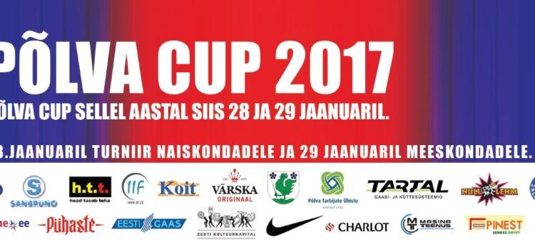Põlva CUP 2017_päis