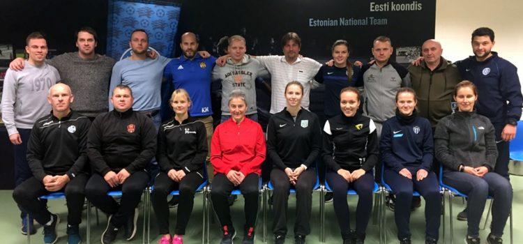 UEFA fitness koolitus. Foto - EJL