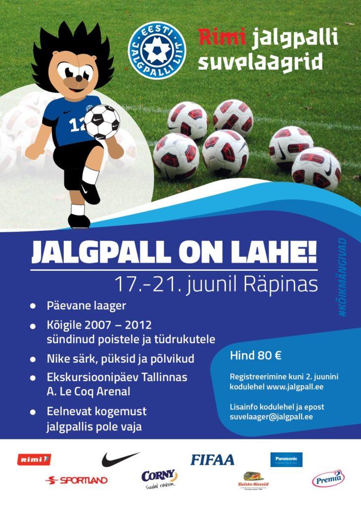 35c39689853 Suvelaager toimub sellel aastal Räpinas – FC Lootos jalgpalliklubi